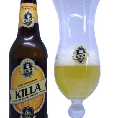 Cerveza Artesanal Killa Blanche Quinoa Normal